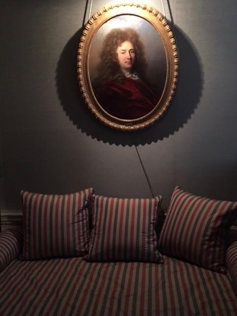 Chambre à coucher du Comte©HV