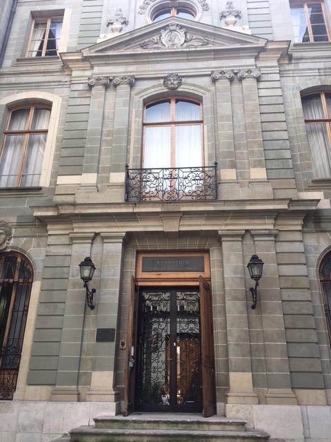 Façade et entrée du Musée©HV