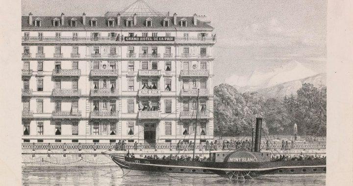 Autrefois- Hôtel de la Paix - Genève