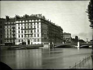 Grand Hotel de russie©BGE, Centre d'iconographie genevoise