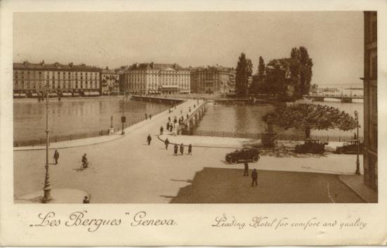 Autrefois, Hôtel des Bergues