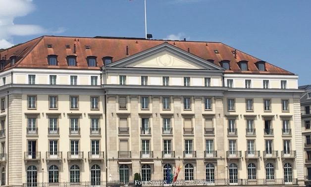 Hôtel des Bergues à Genève