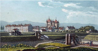 Pont suspendu de Saint-Antoine