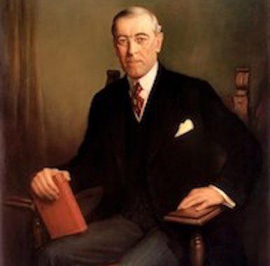 Woodrow Wilson, 28e pPrésident des Etats-Unis