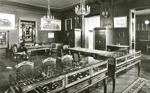 La 1ère boutique à Genève en 1906