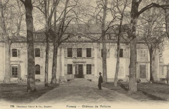 autrefois-Château de Voltaire
