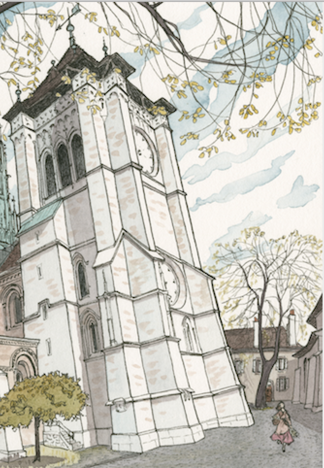 Cathédrale Saint-pierre-Genève©Marion Jiranek