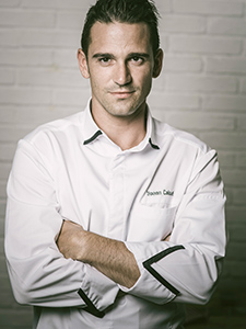 Yohann Caloué, chef du Flacon à Carouge