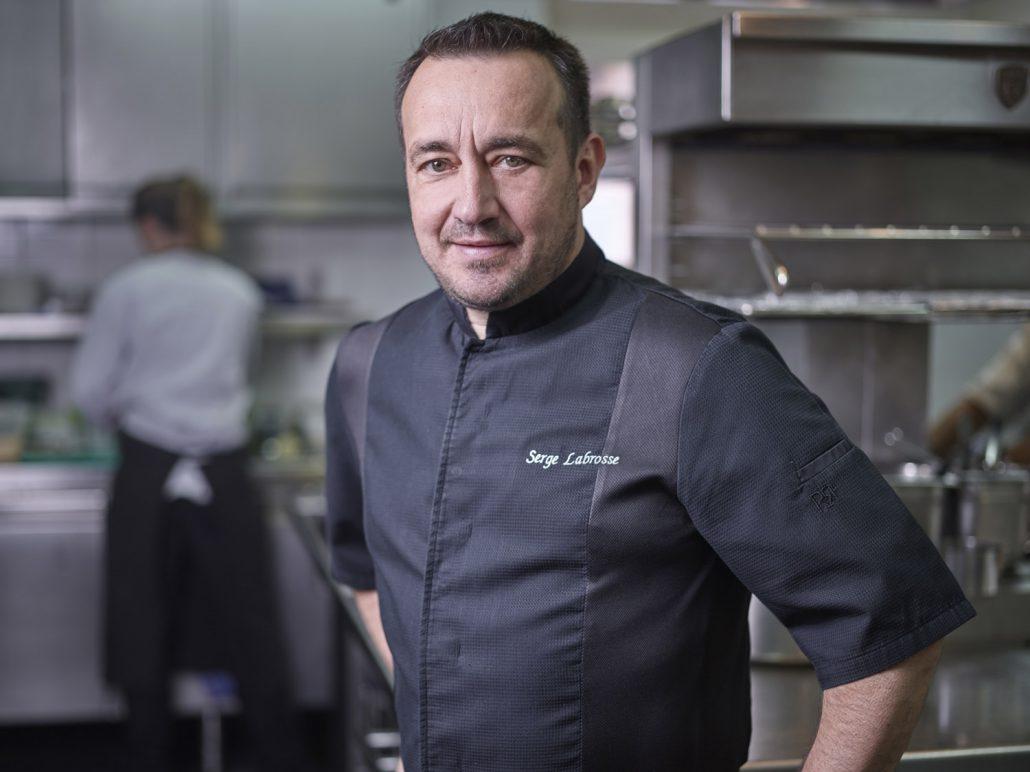 Le Chef Serge Labrosse à La Chaumière