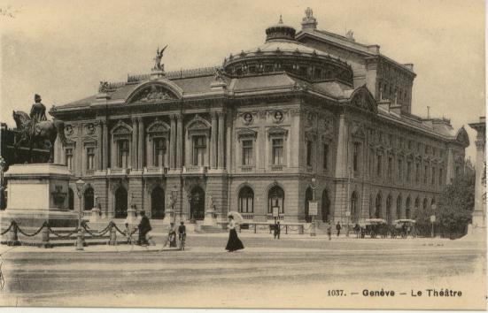 Le Grand Théâtre vers 1904