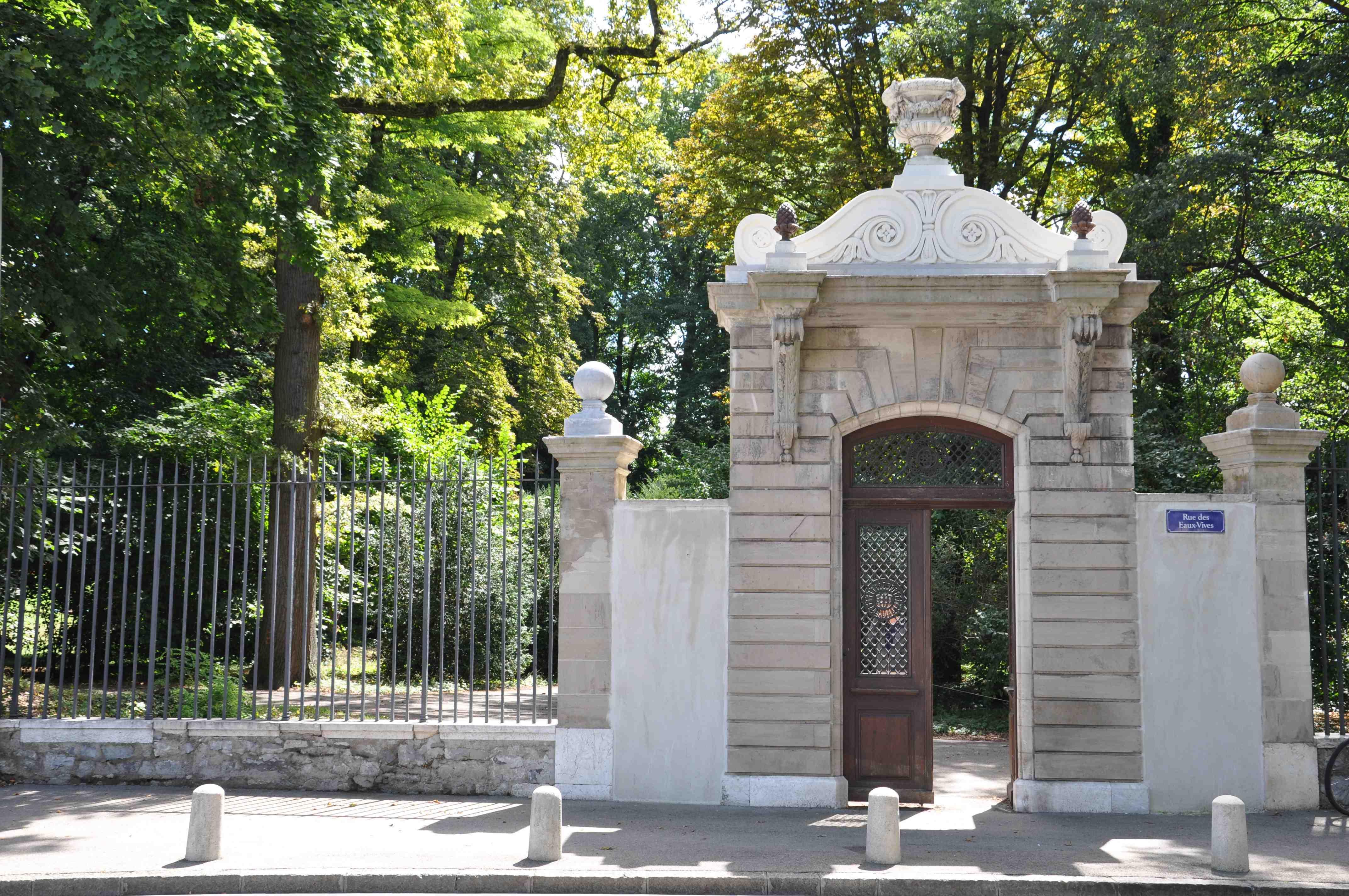 Entree Parc La Grange©HV