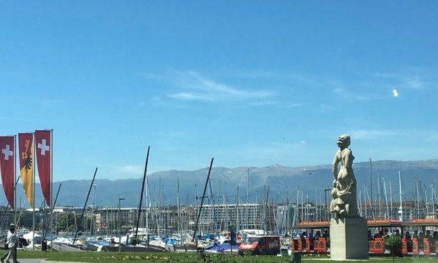 Statue de La Bise ou La Brise-1941 -Genève