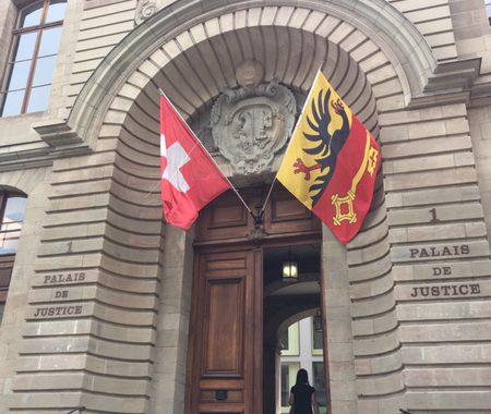 Entrée Palais de Justice