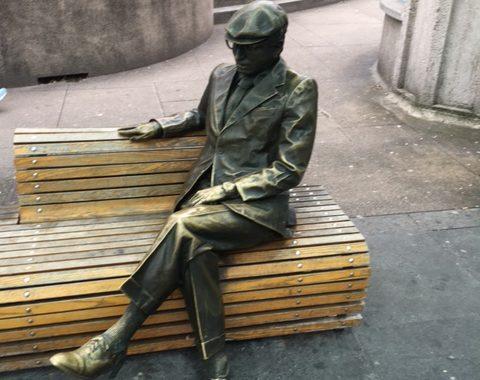 Statue d'André l'Huillier©Hv