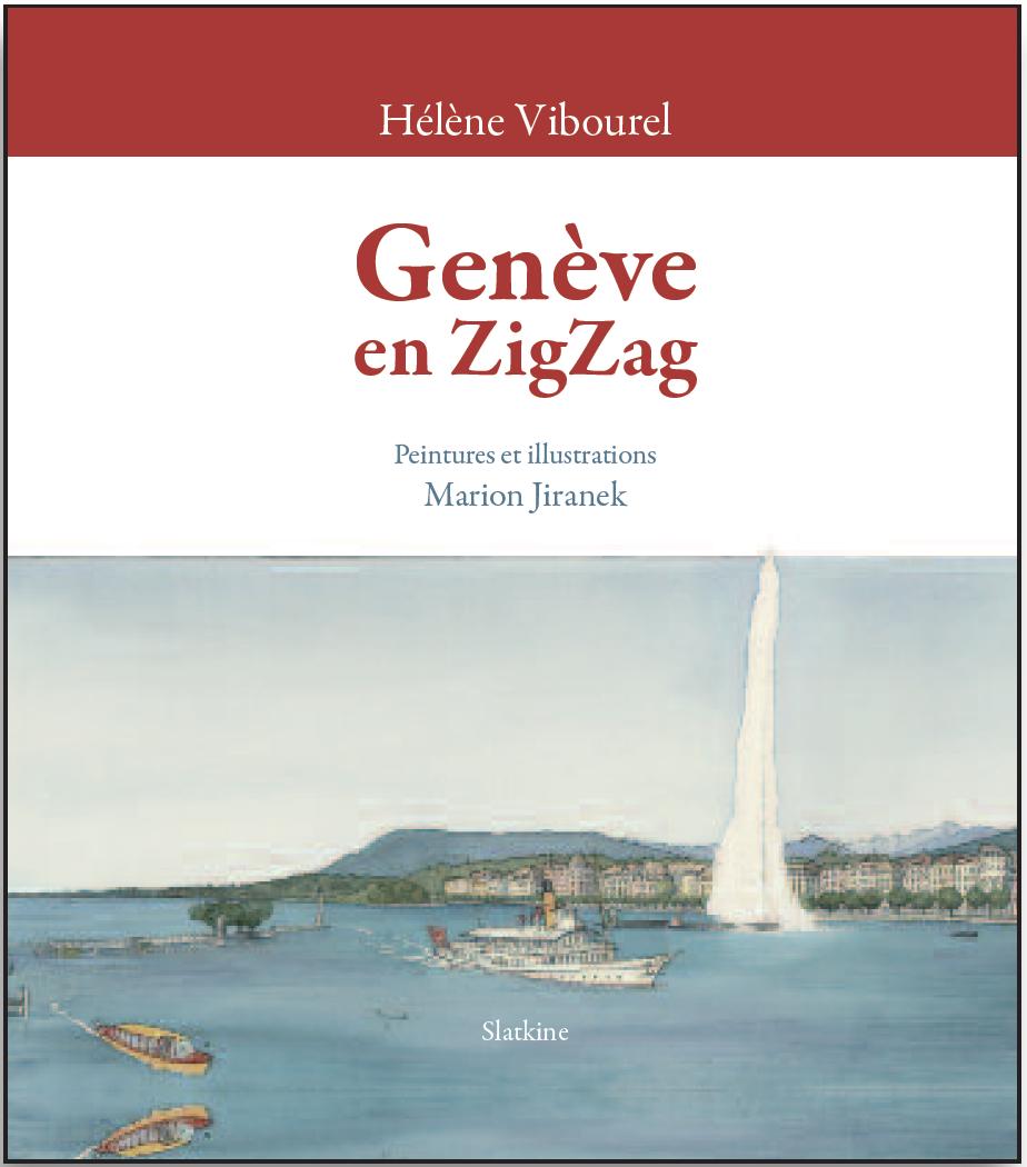 Livre illustré Genève en ZigZag